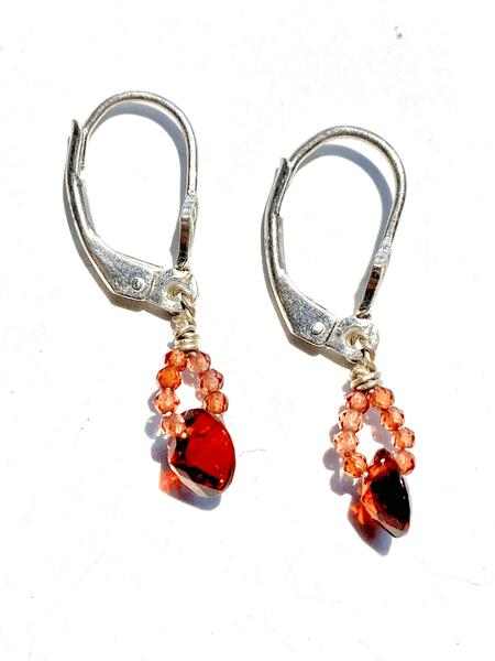 Desire Crystal Drop Earrings