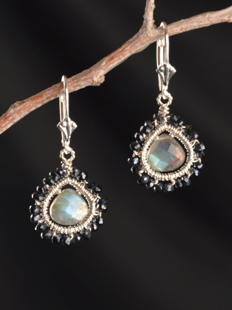 Galaxy Petite Mandala Earrings