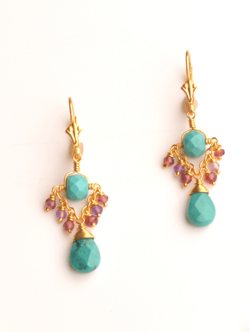 Sarasvati Trapeze Earrings