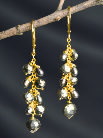 Starseed Cluster Earrings