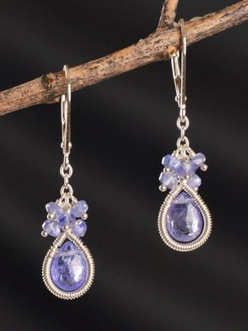 Nightingale Tanzanite Cluster