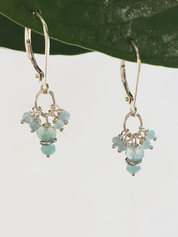 Kalani Petit Cluster Earrings