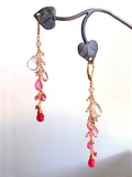 Blooming Heart Cluster Earring