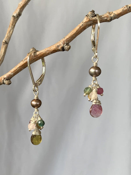 Wildflower Cluster Earrings