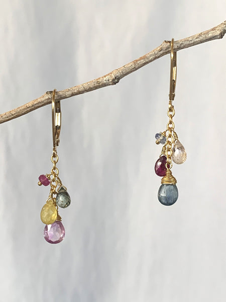 Treasure Cluster Earrings