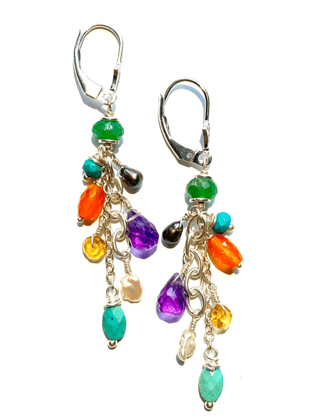 Cosmic Girl Dangle Earrings