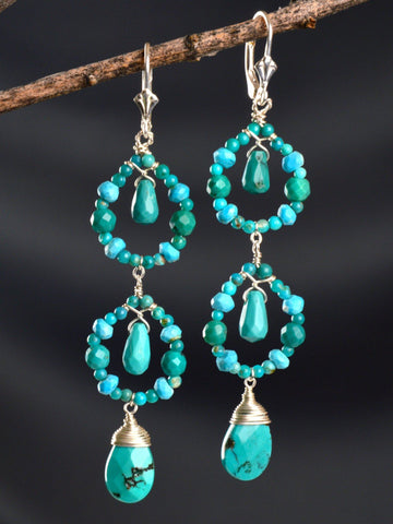 Mesa Sky Chandelier Earrings