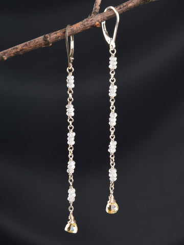 Long Freya Earrings