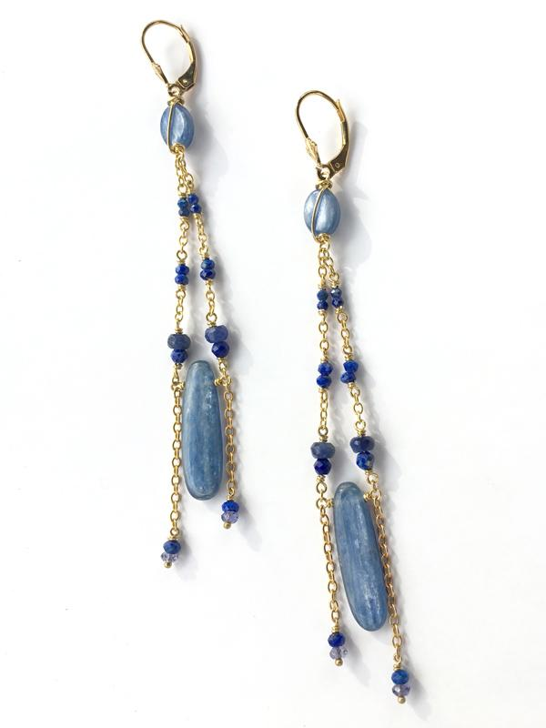 Asteria Chandelier Earrings
