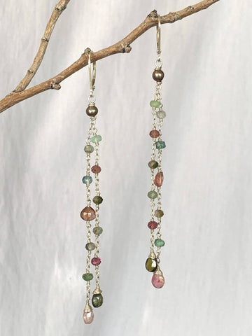 Wildflower Dangle Earrings