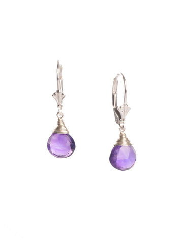 Amethyst Simple Briolette