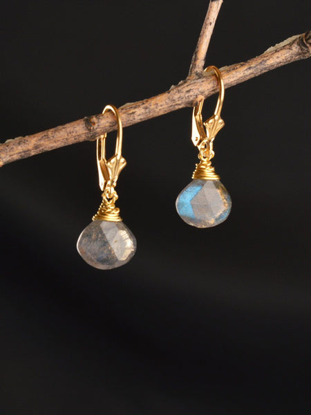 Galaxy Briolette Earrings