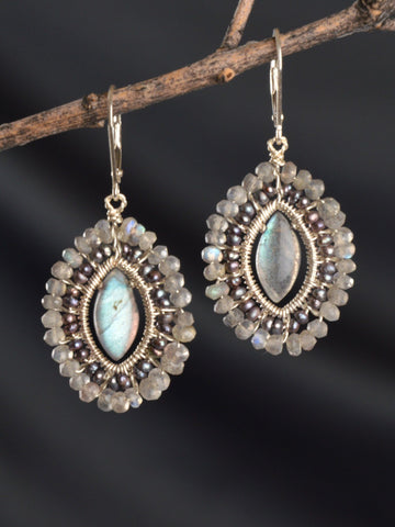 Galaxy Mandala Earrings