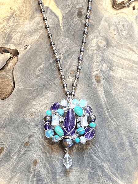 HARMONY ORIGINAL Poetic Cluster Mandala Necklace