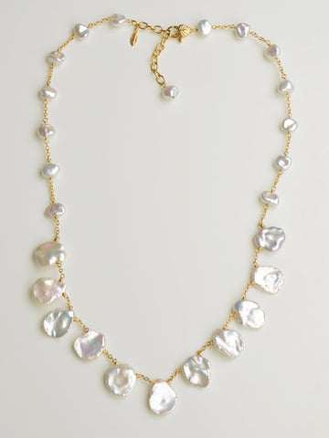 Grace Keishi Petal Necklace
