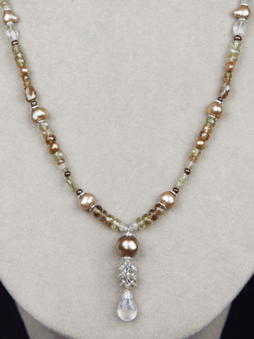 Ceres Cluster Necklace