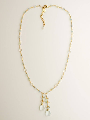 Galene Double Drop Necklace