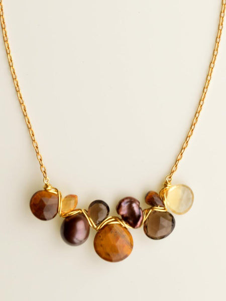 Tigress Briolette Necklace