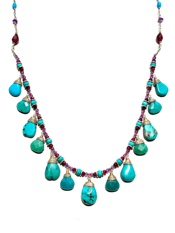Sarasvati Drop Necklace