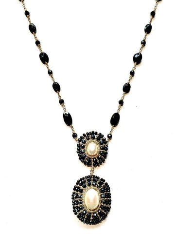Moon Mandala Double Necklace