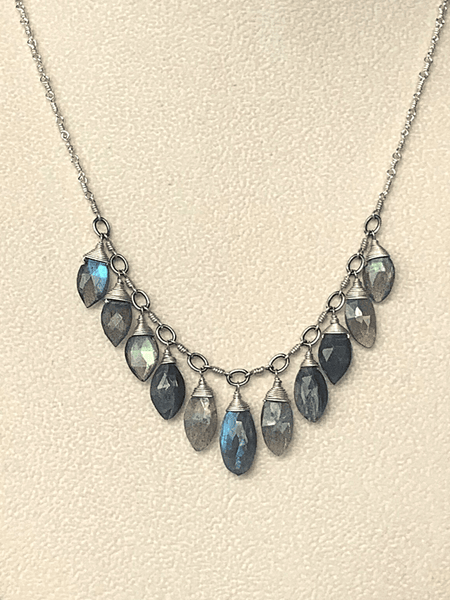 Dream Briolette Drop Necklace