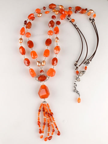 Passion Carnelian Necklace