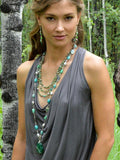 Gaia Long Wrap Necklace