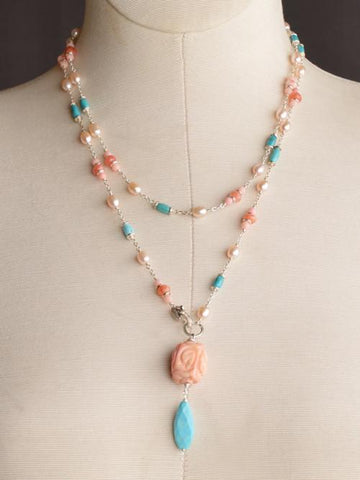 Compassion Lariat Necklace