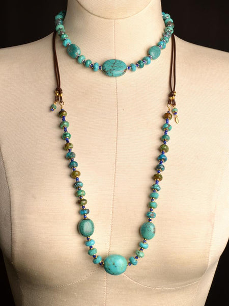Devi Lapis Bold Necklace