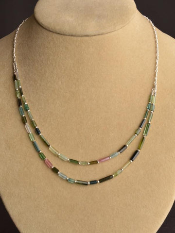 Wildflower Dbl.Strand Necklace