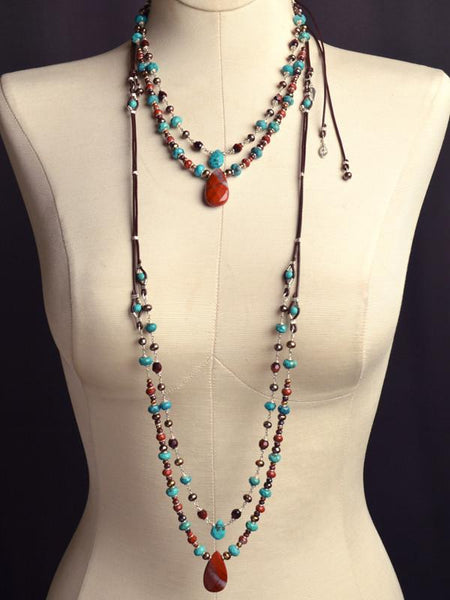 Sacred Multi Strand Necklace