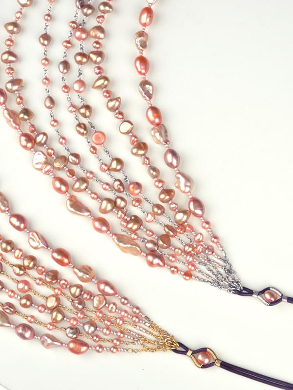 Eos 7-Strand Pearl Necklace