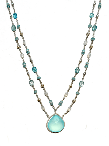 Kalani Double Strand Necklace