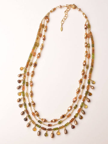 Harvest Triple Necklace