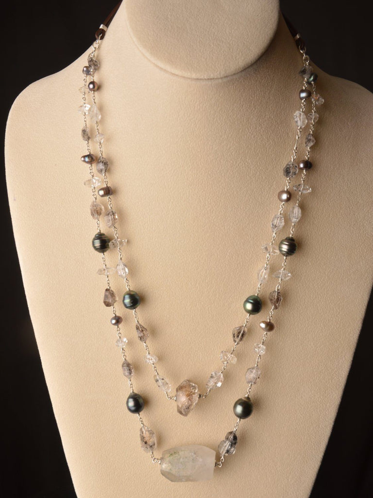 Starlight Multistrand Necklace