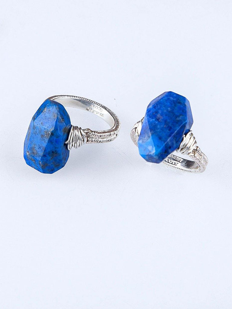 Asteria Lapis Ring
