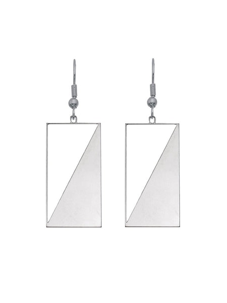Angle and Balance Earrings by Rael Cohen