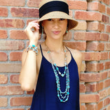 Kalani Wrap Leather Necklace