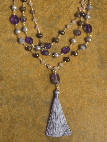 Noble Heart Hand Wrapped Mala