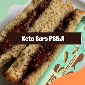 Recipe: Keto Bars Peanut Butter & Jelly
