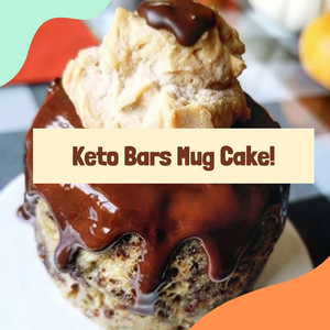 Recipe: Keto Bars Mug Cake!