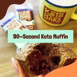 Recipe: 90-Second Keto Muffin!