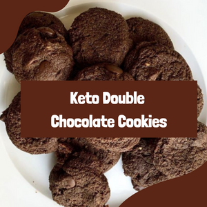 Recipe: Keto Double Chocolate Cookie