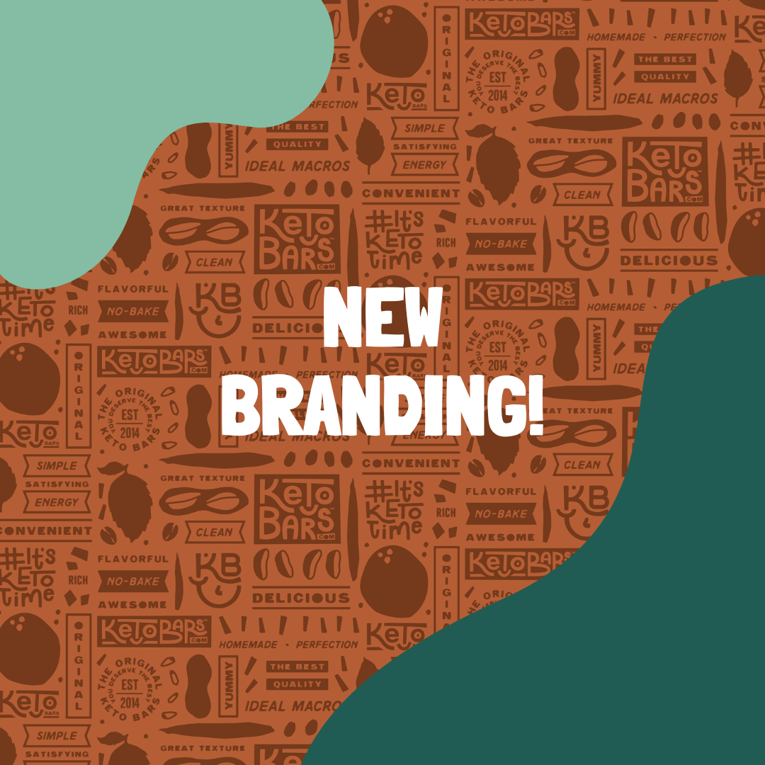 Introducing: Keto Bars New Branding!