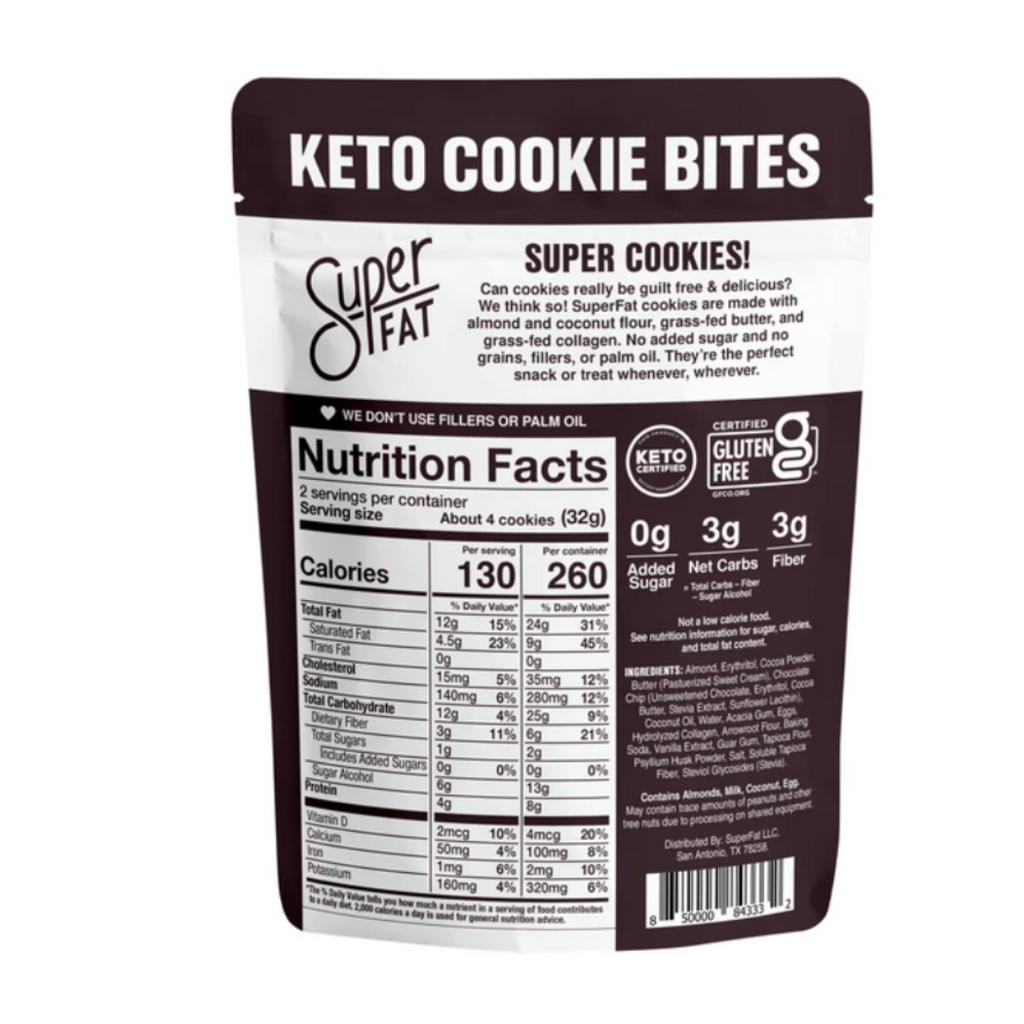 Dark Chocolate Coconut Keto Bars, 10 pack.