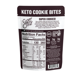 SuperFat Cookies: Double Chocolate Chip (3 Bags, Free Gift)