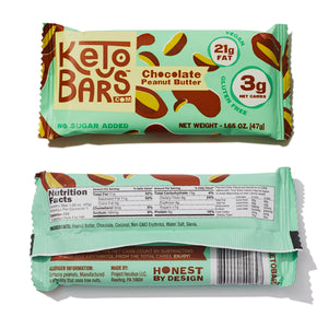 Keto Bars Mini Sampler Pack (4 Bars)
