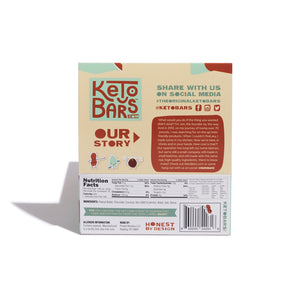 Chocolate Peanut Butter Keto Bars, 10 pack.