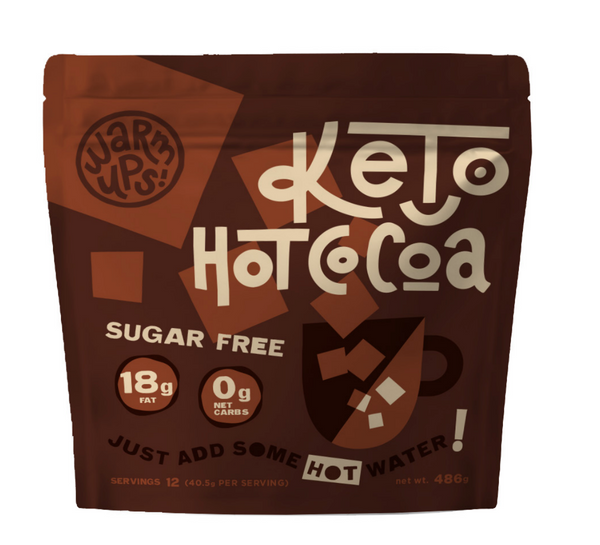 Keto Hot Cocoa, 12 Servings.