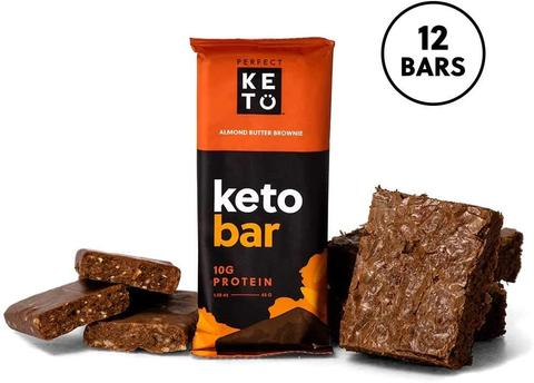 almond butter brownie keto friendly protein bars